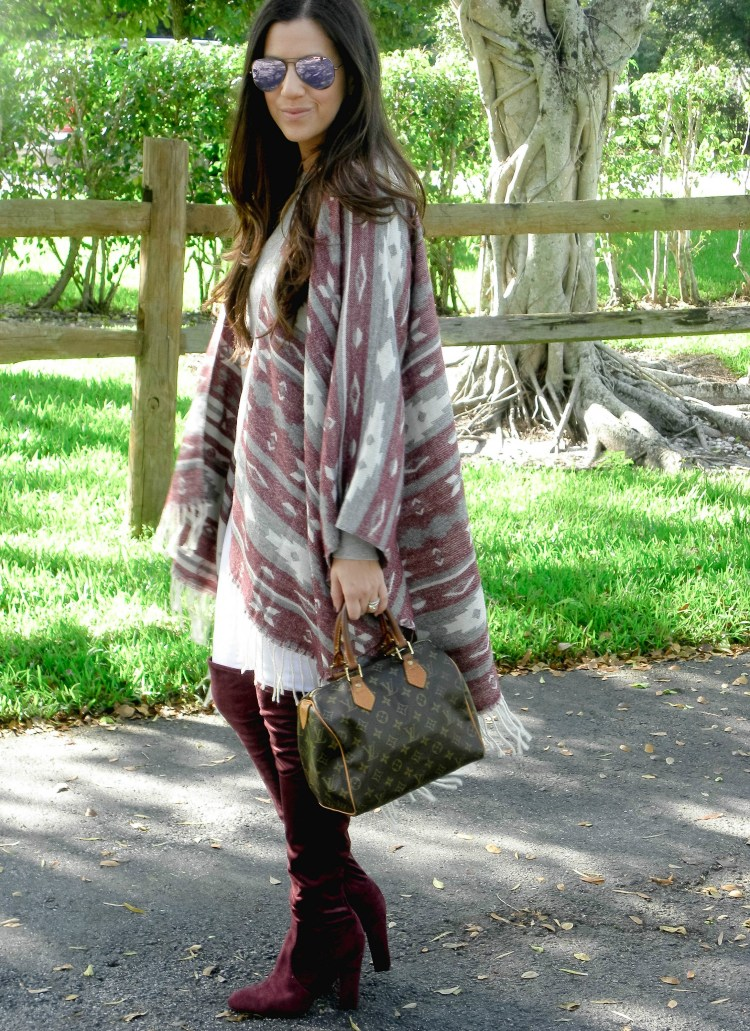 affordable poncho cape