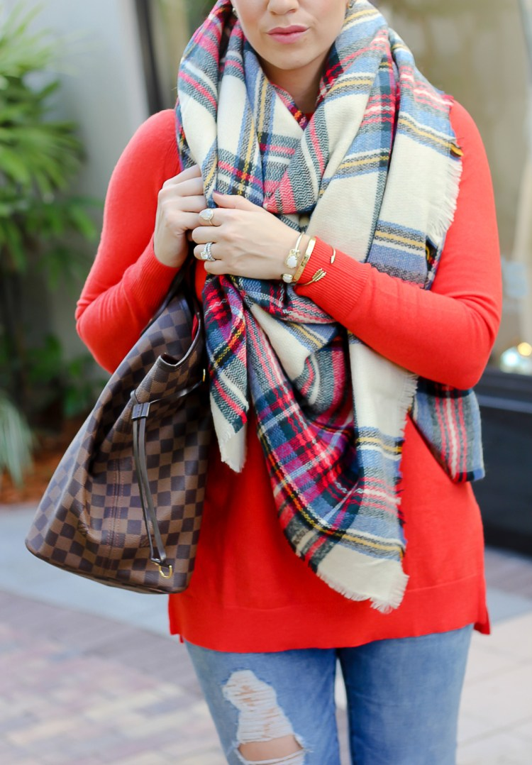 asos scarf, Jaime cittadino, winter style