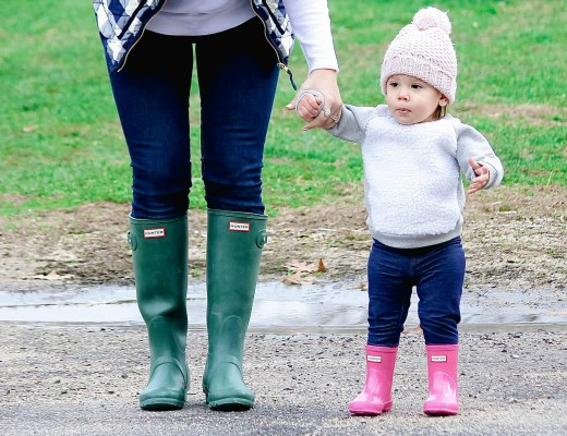 baby Hunter boots for girls