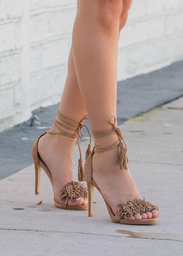 steve madden sassey, tassel and fringe heels