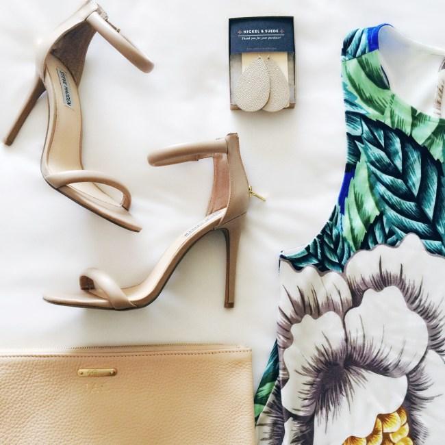 Mara Hoffman leaf print dress, mara hoffman swing dress