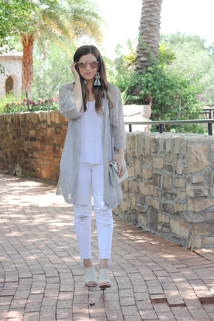 design history knit cardigan , how to wear neutrals from head to toe