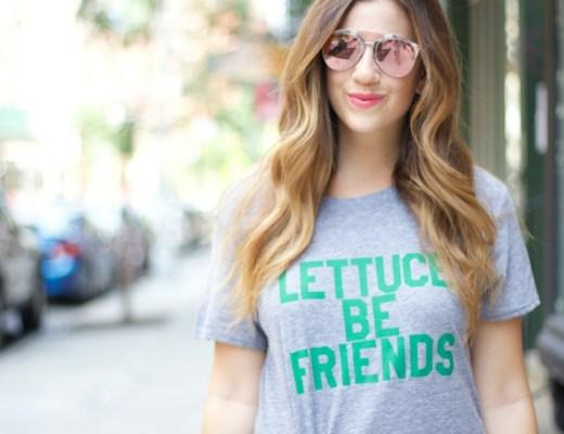 Lettuce Be Friends tee