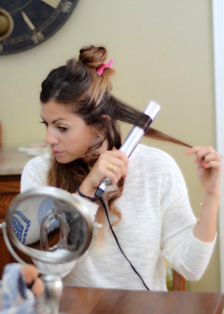 ghd platinum styler for curling hair
