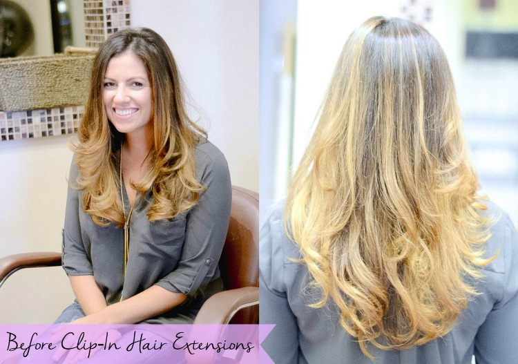 Beauty Blogger Jaime Cittadino of Sunflowers and Stilettos discusses clip-in hair extensions