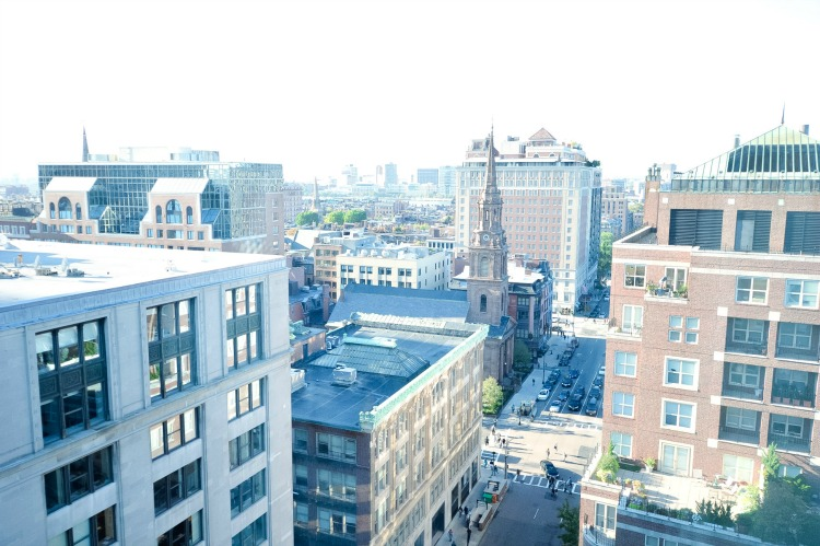 View from Boston Park Plaza