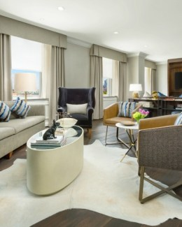 Boston Park Plaza Presidential Suite