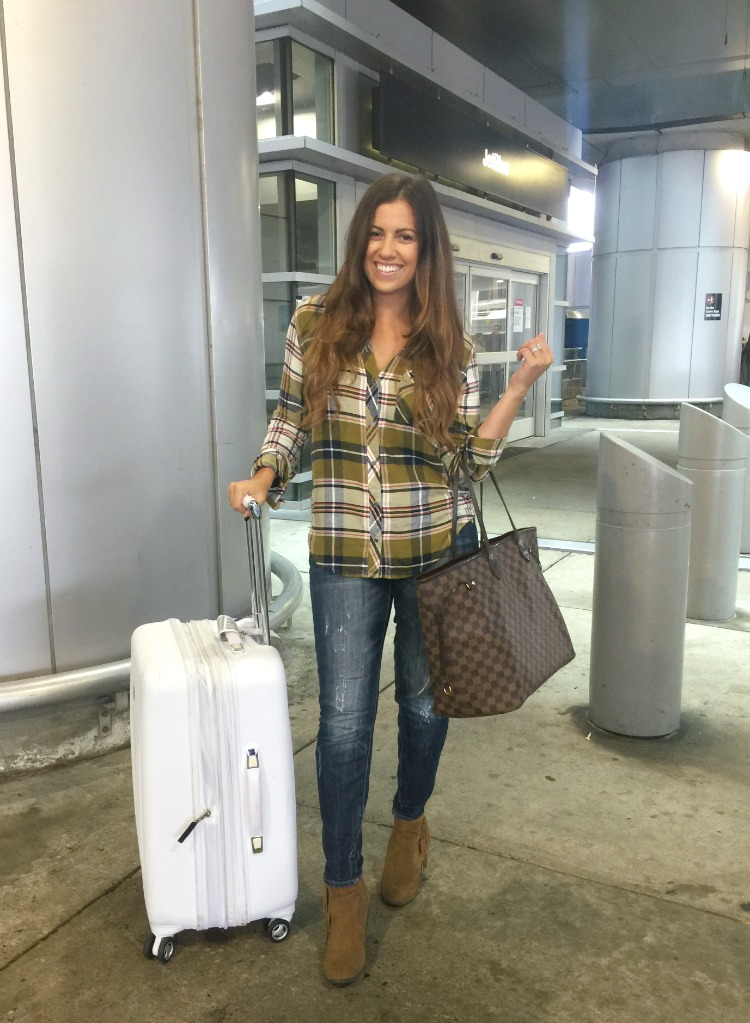 Cute Casual Airport Style