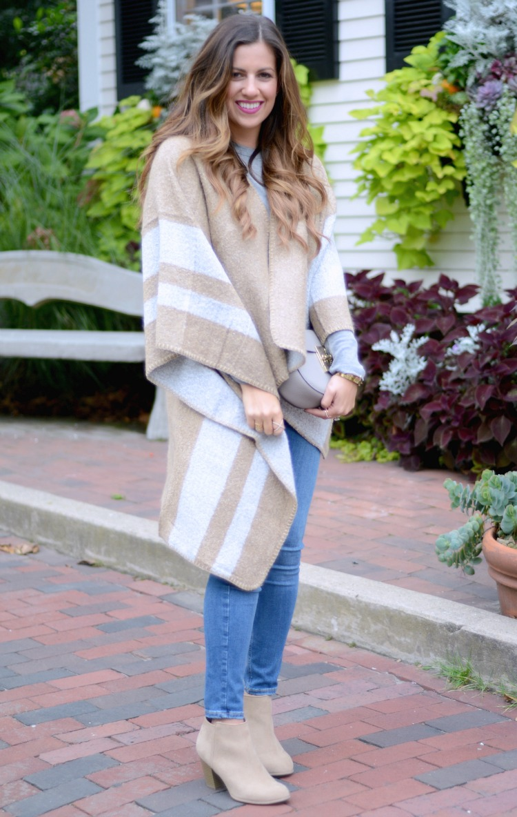 Cozy Fall Cape, Cozy Winter Cape