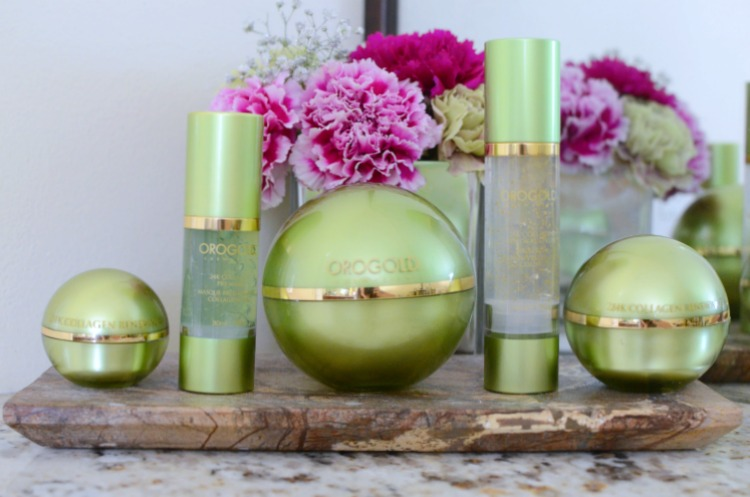 Orogold Cosmetics 24K Collagen Collection