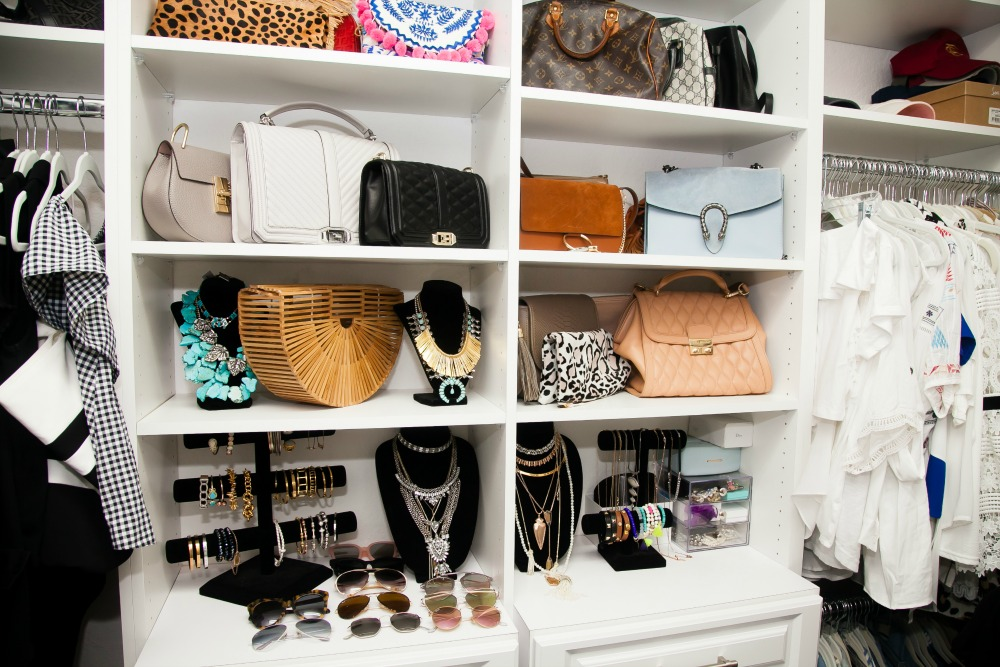 Closet Design, Custom Closets, Storing Accessories And Handbags