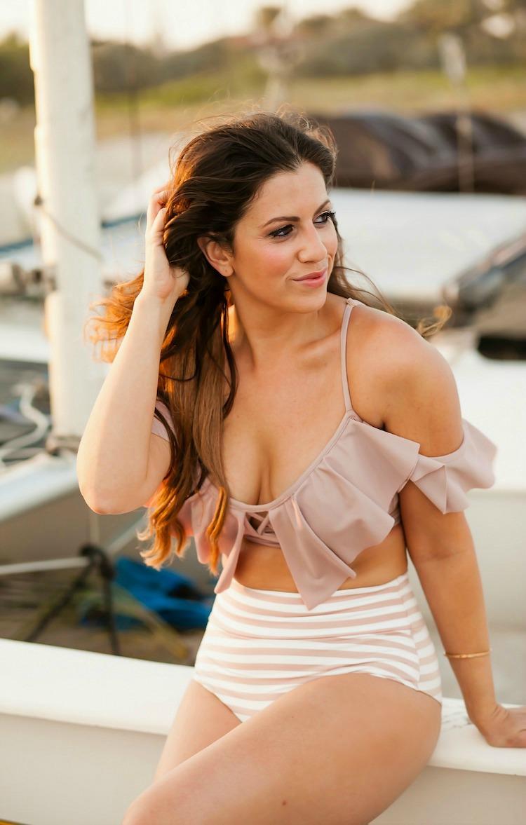 Montce Swim Dusty Rose bikini, Montce Swim Promo Code, South Florida Fashion Blogger, Jaime Cittadino