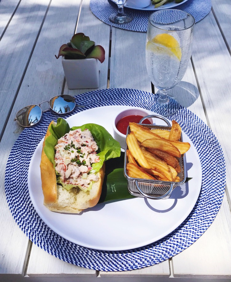 EAU Palm Beach lobster roll