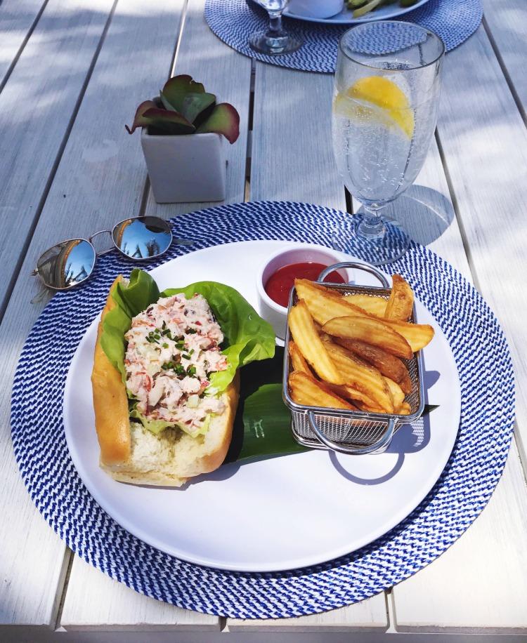 EAU Palm Beach lobster roll