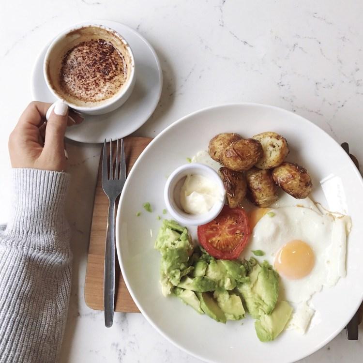 Dublin Ireland breakfast spot