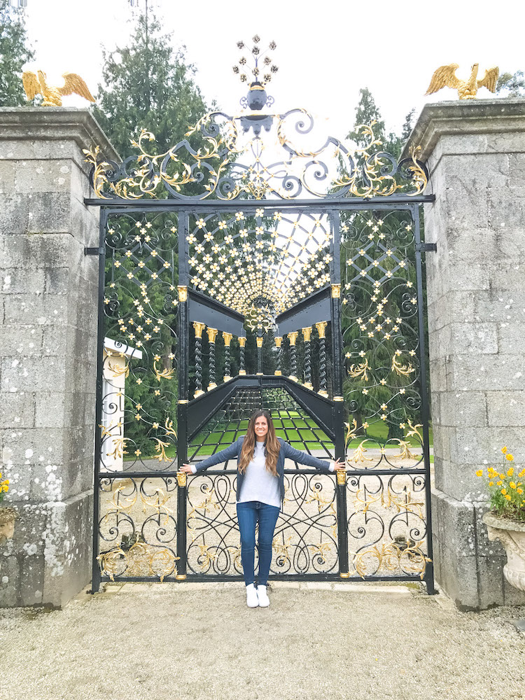 Powerscourt House and Gardens , Travel Blogger Jaime Cittadino of Sunflowers and Stilettos