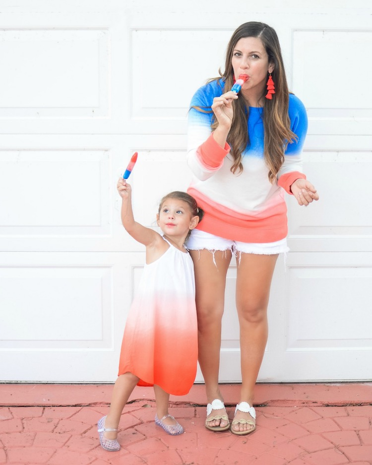 Mother Daughter American Style, Sunflowers and Stilettos fashion blog