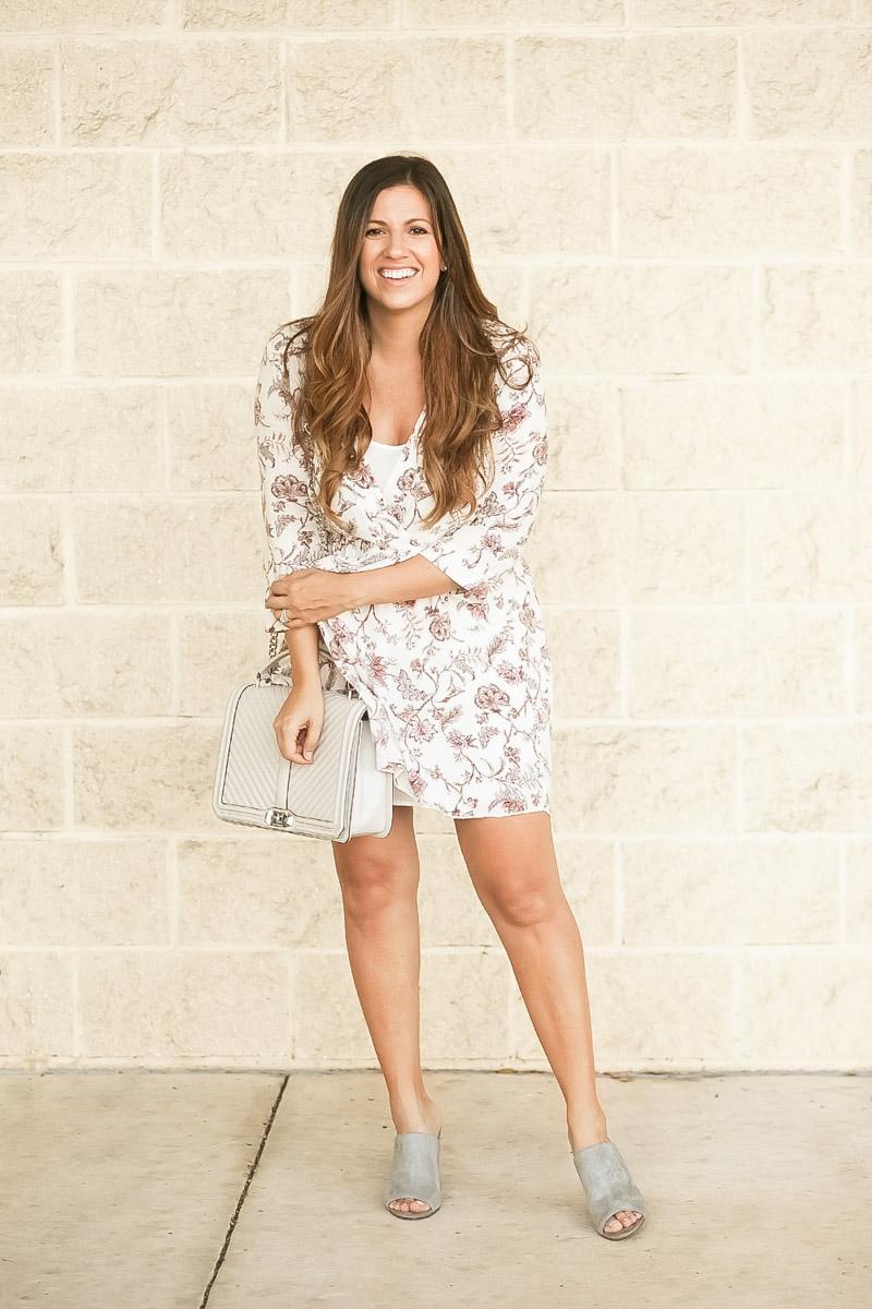 Bump Friendly Babydoll Dress _ Maternity Style by Jaime Cittadino, Sunflowers and Stilettos Florida Fashion Blogger