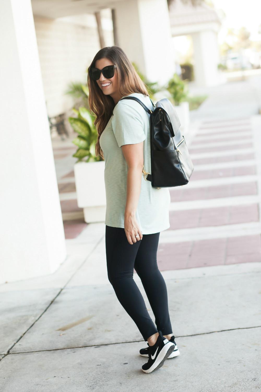 Freshly Picked Backpack Diaper Bag _ Backpack Diaper Bag _ Mom Style