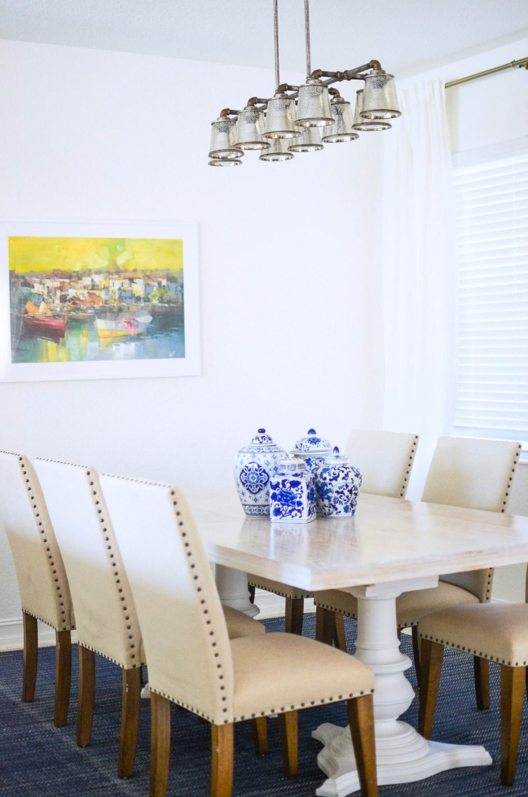Dining Room Makeover _ Sunflowers and Stilettos blog