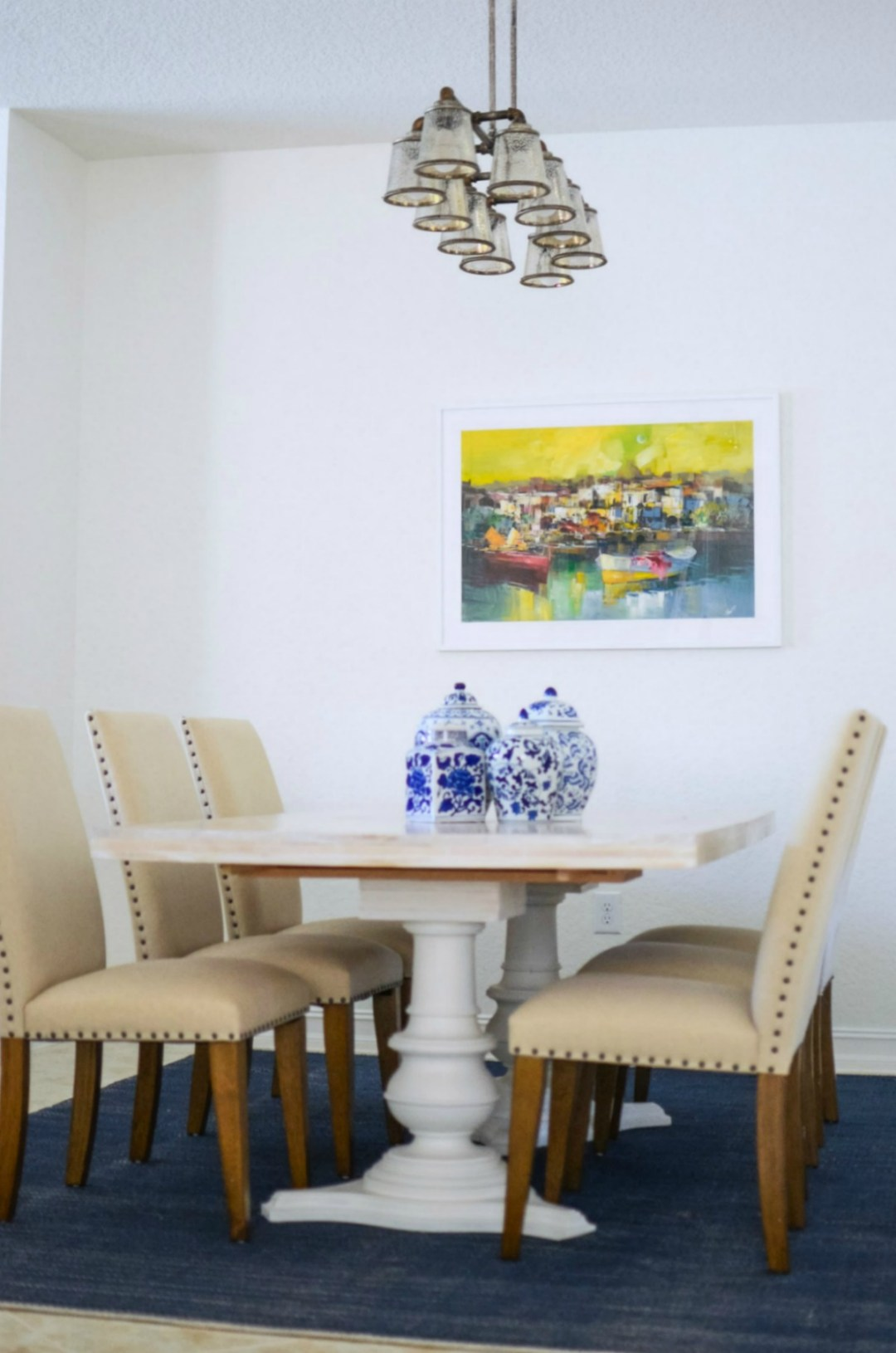Dining Room Farmhouse Table _ Dining Room Makeover