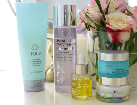 my current skincare routine for younger looking skin