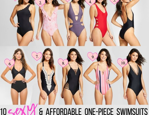 10 sexy one piece swimsuits from Target, sexy and affordable one piece swimsuits