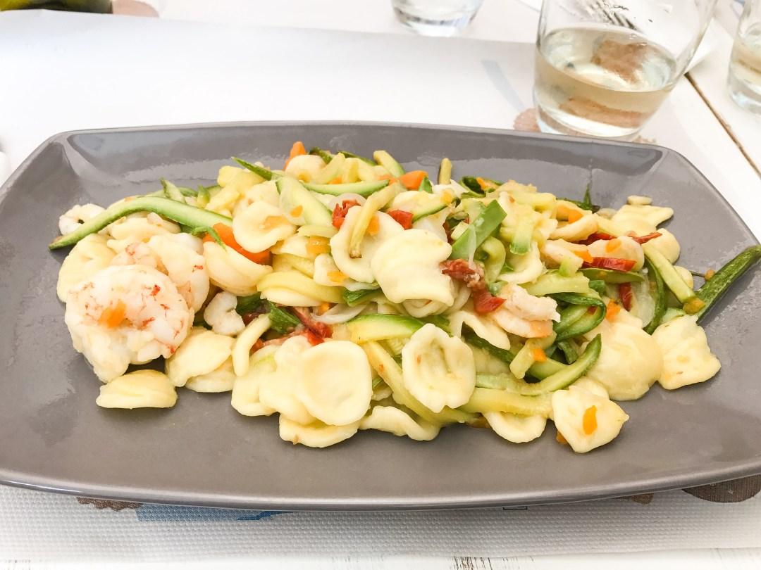 Cinque Terre Monterosso restaurant