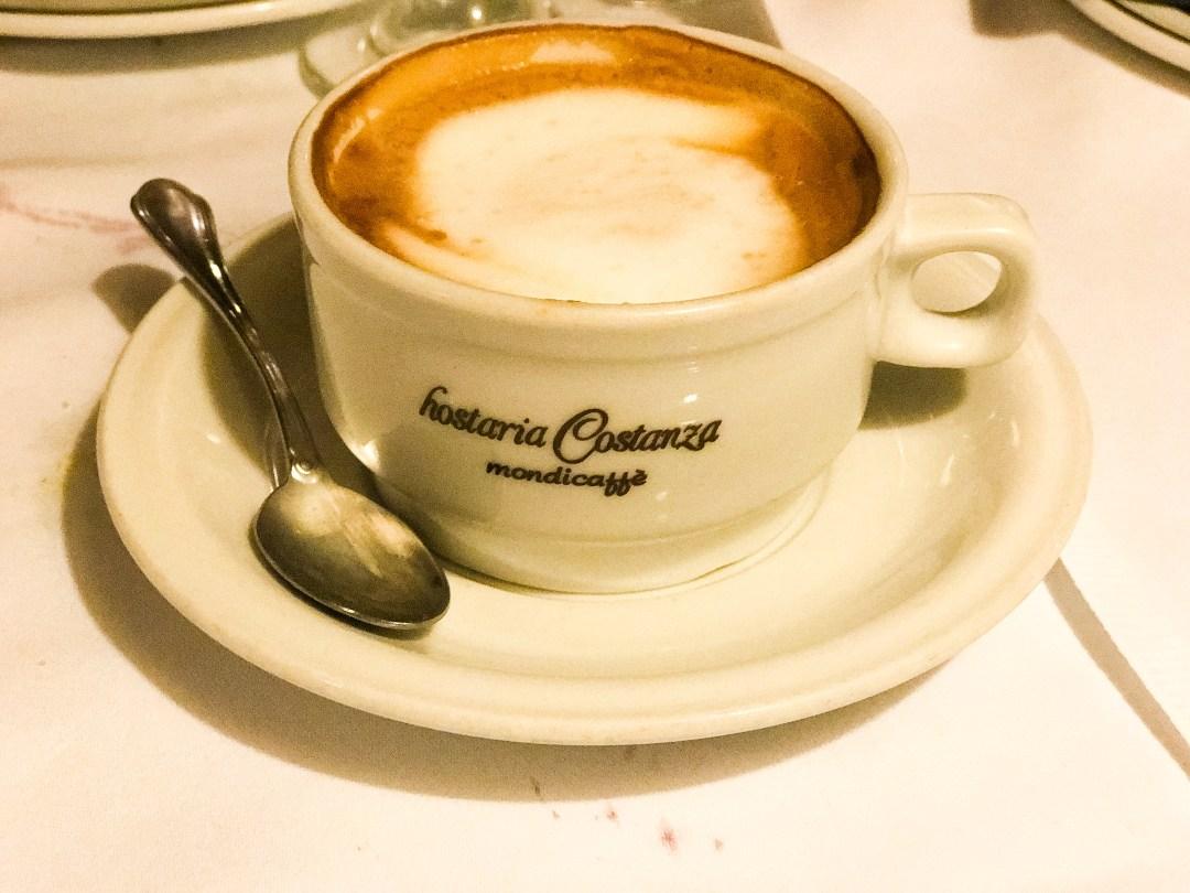 tuscany hostaria costanza rome best restaurant