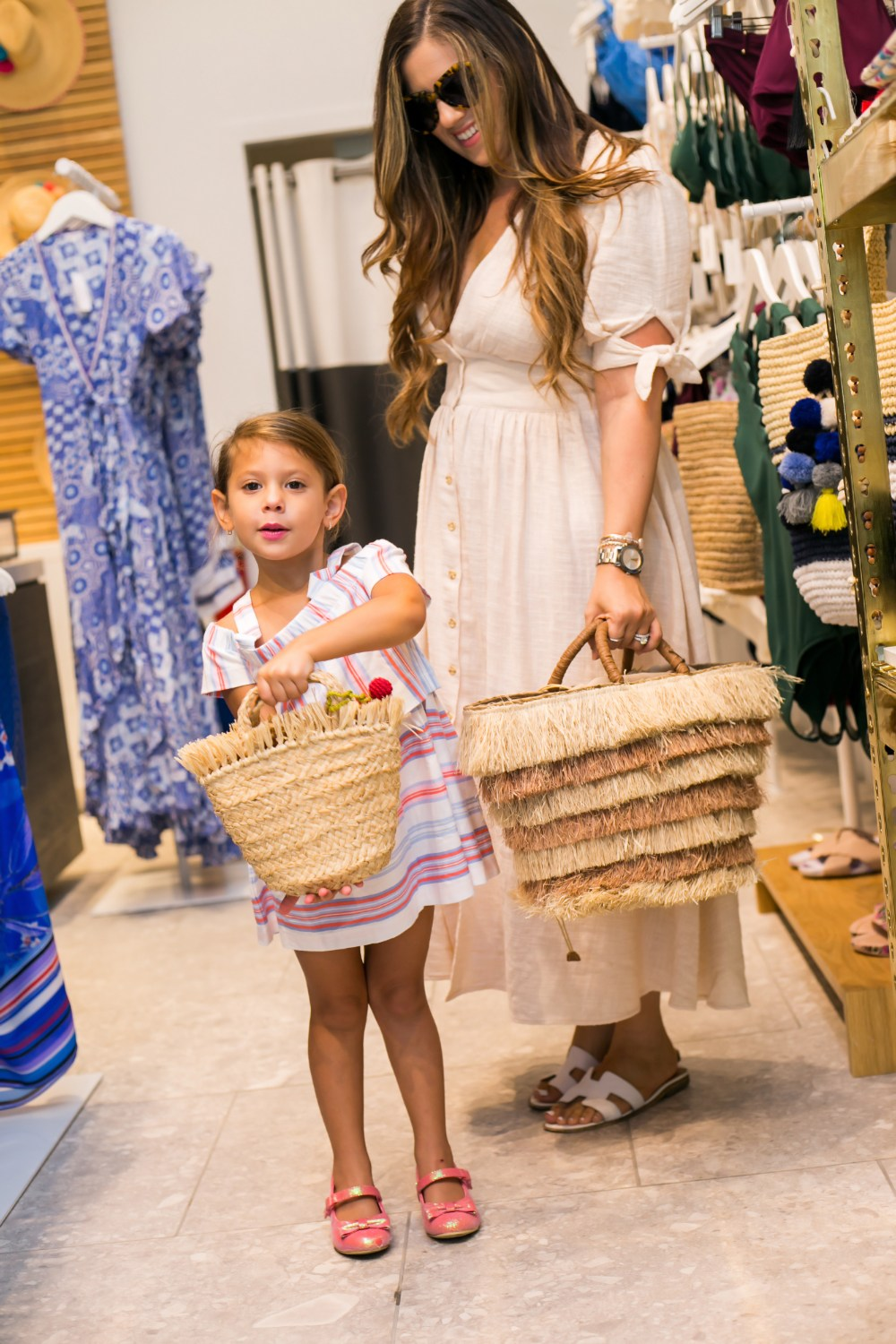 The Royal Poinciana Plaza family shopping day, Florida blogger, Jaime cittadino and family