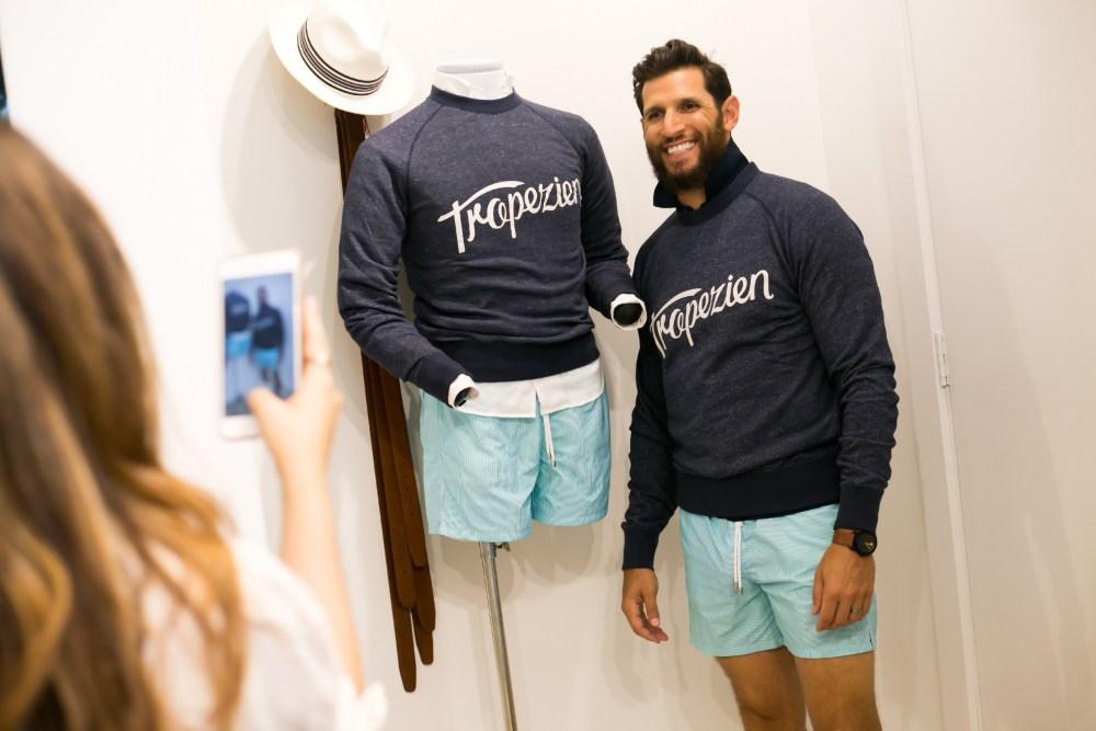 Tropezien Sweatshirt, Cremieux Palm Beach