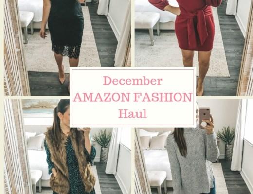 December Amazon Fashion Haul, Amazon Fashion Dresses, Cute Affordable Holiday dresses