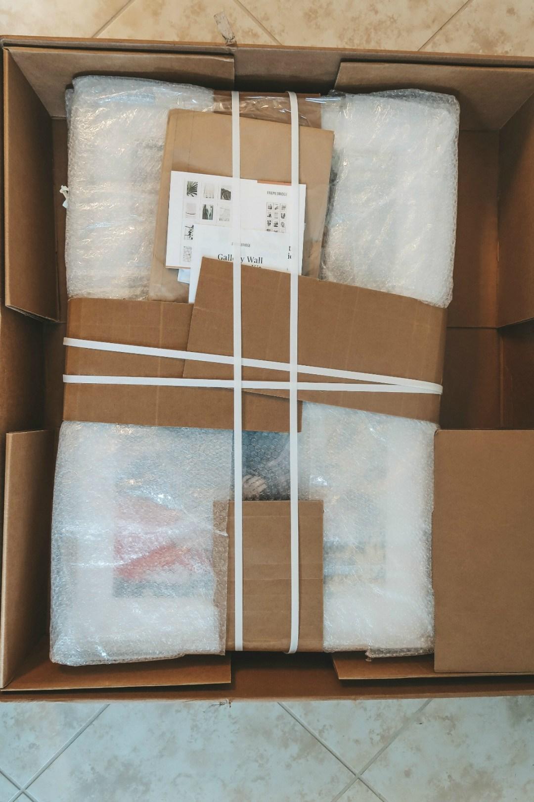 Framebridge Gallery Wall Packaging