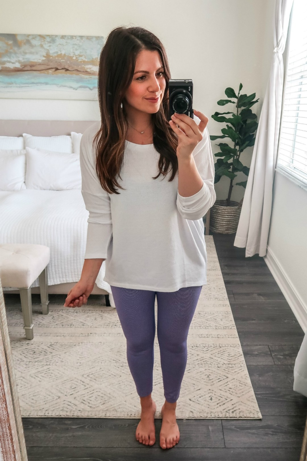 Amazon Fashion Core 10 Leggings, purple Core 10 leggings
