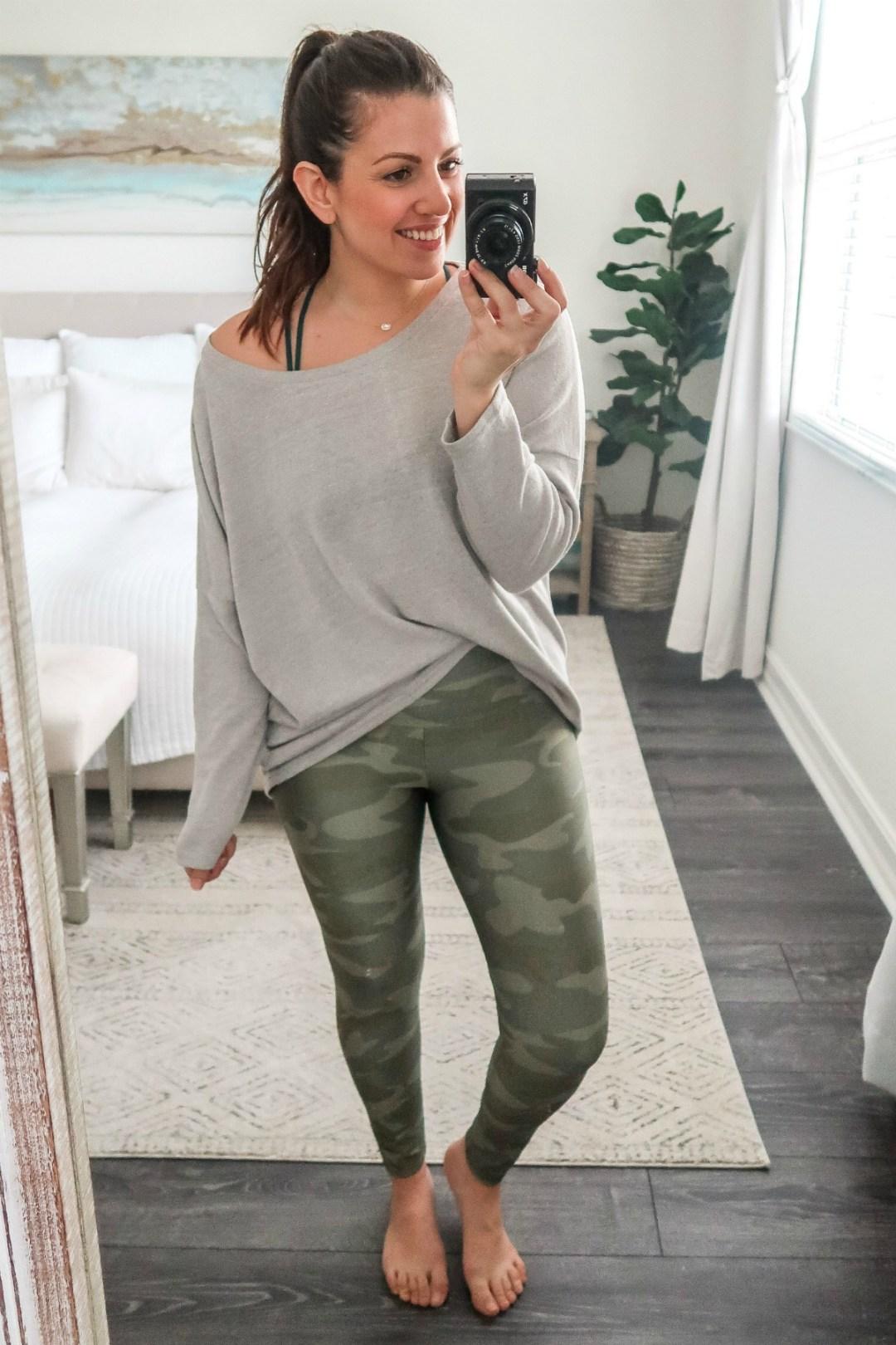 January Amazon Fashion camo leggings, camo leggings