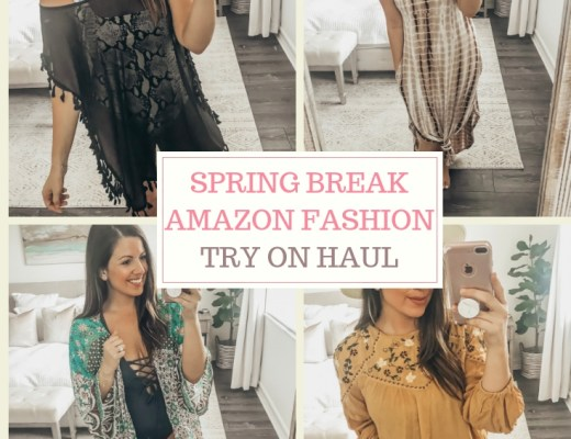 Amazon Fashion Try On Haul by Jaime Cittadino of Sunflowers and Stilettos blog
