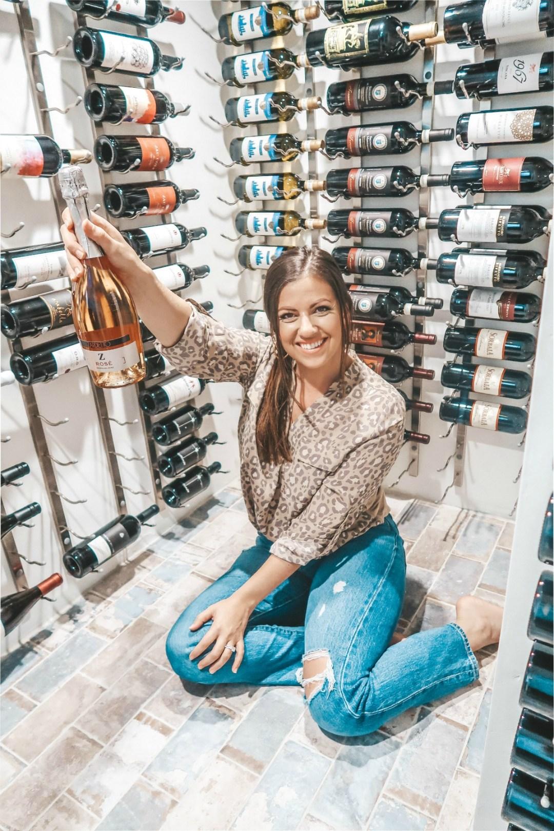 Vintage View Wine Rack System Home Wine Cellar