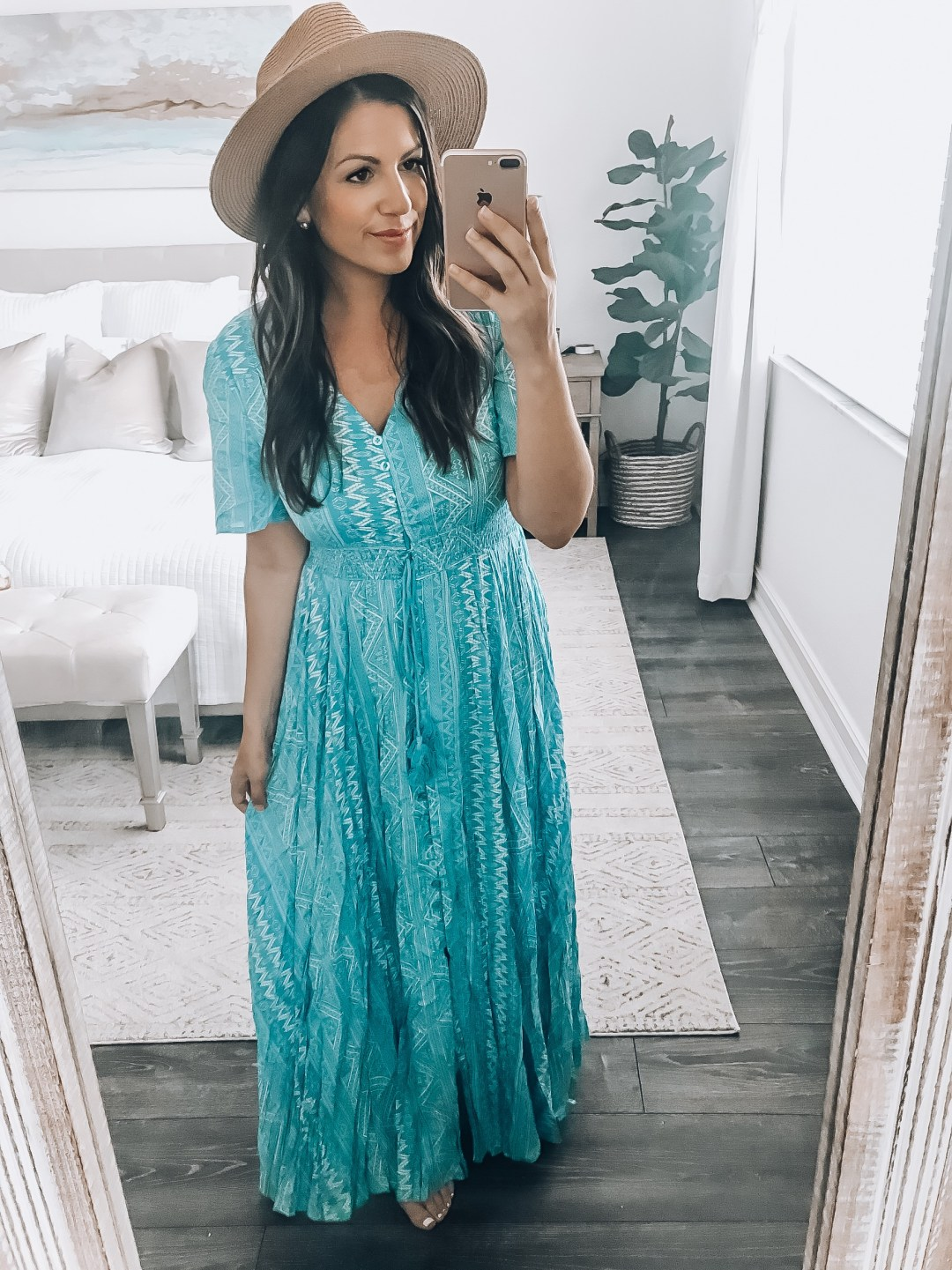 Button Up Flowy Maxi Dress, Cover Up, Amazon maxi dress