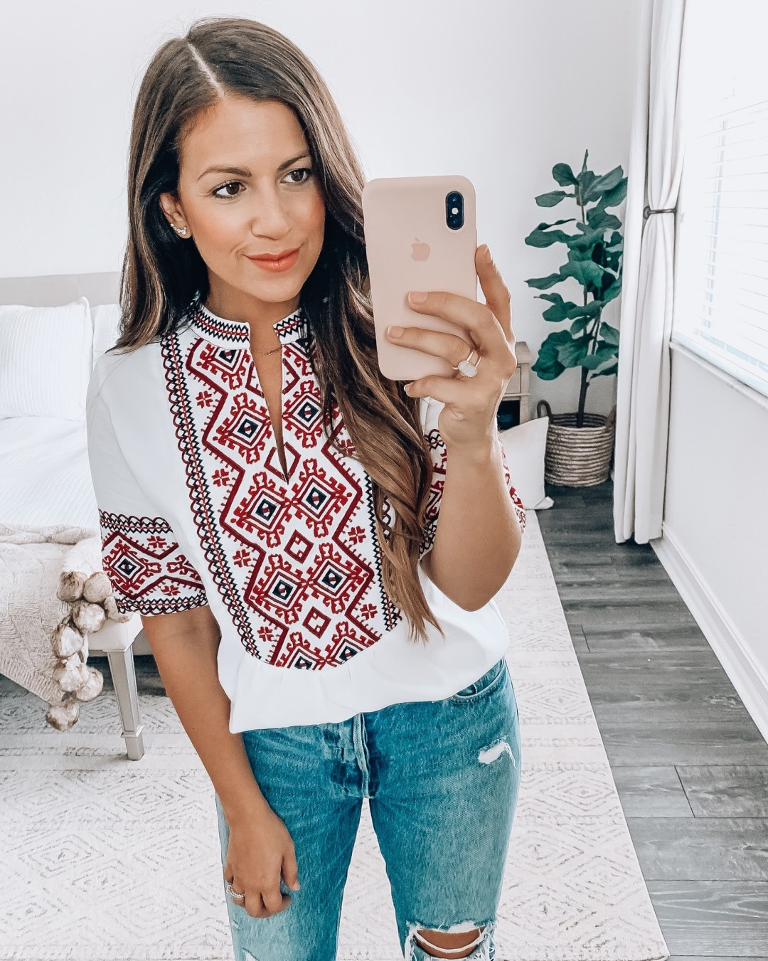 Amazon Fashion boho style top, Amazon Fashion Haul by Jaime Cittadino