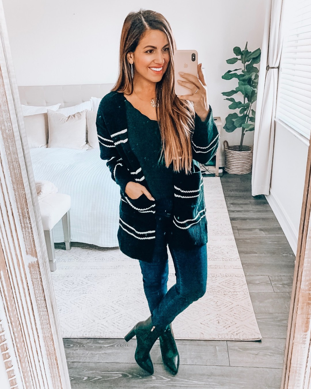 stripe cardigan, Amazon fashion cardigan