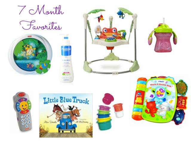 7 Month Favorites