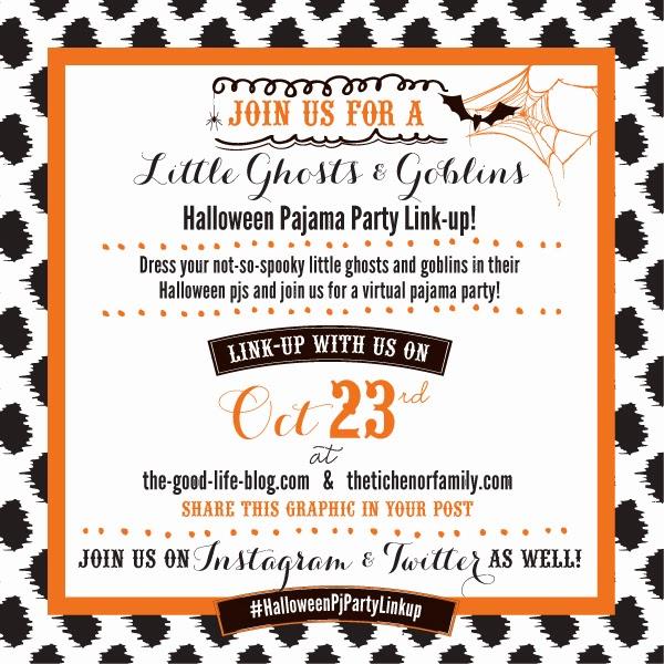 Halloween PJ Linkup!