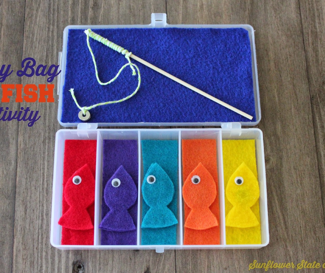 Gone Fishin' – A Busy Bag DIY