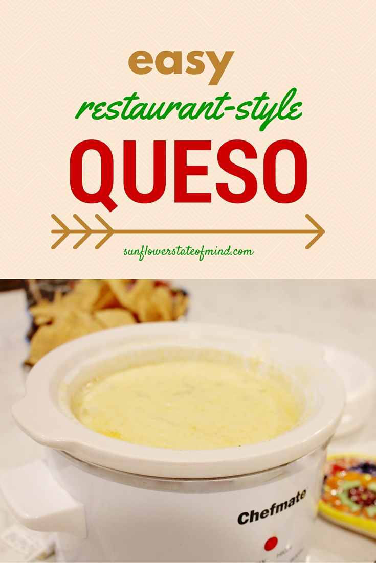 Easy Crockpot Queso Recipe