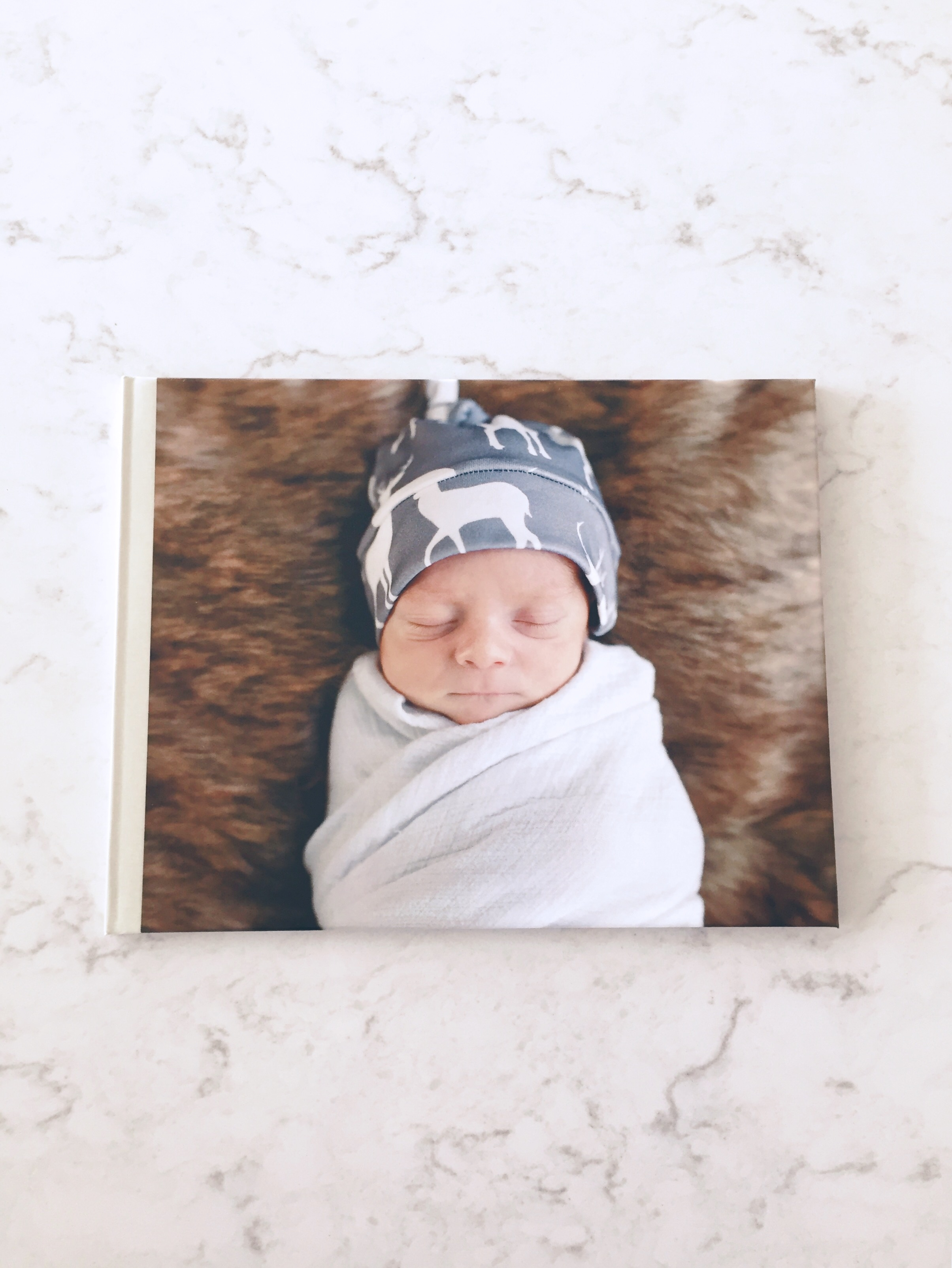 sunflower state of mind: newborn photo book
