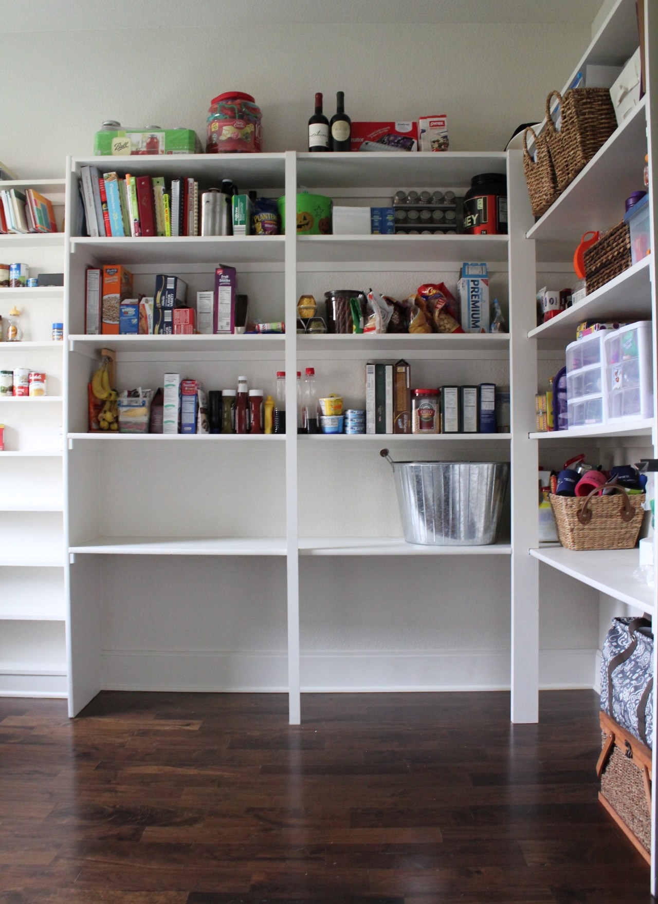 Home Tour: Mudroom, Pantry & Powder Room