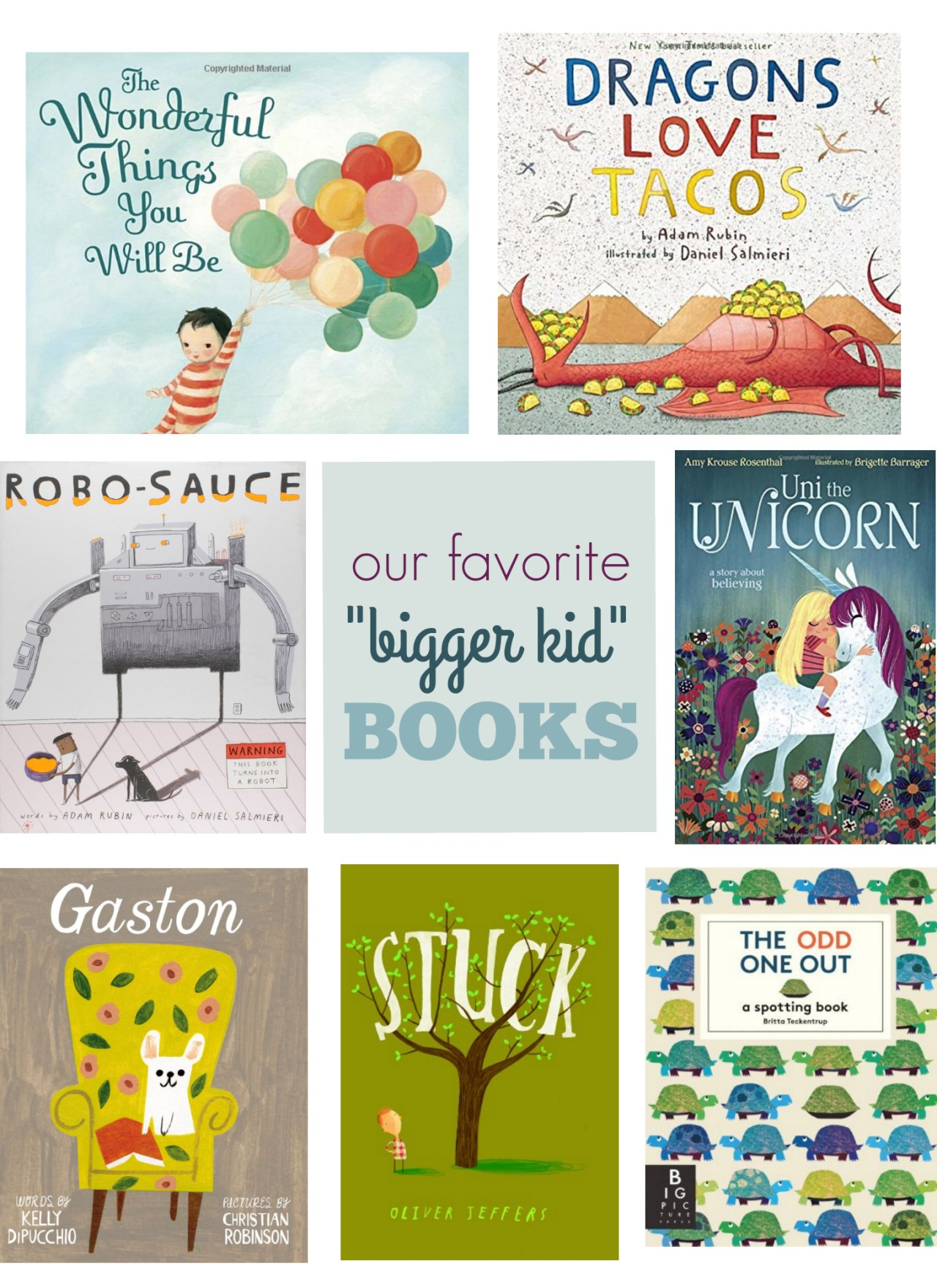 "Favorite ""Bigger Kid"" Books"