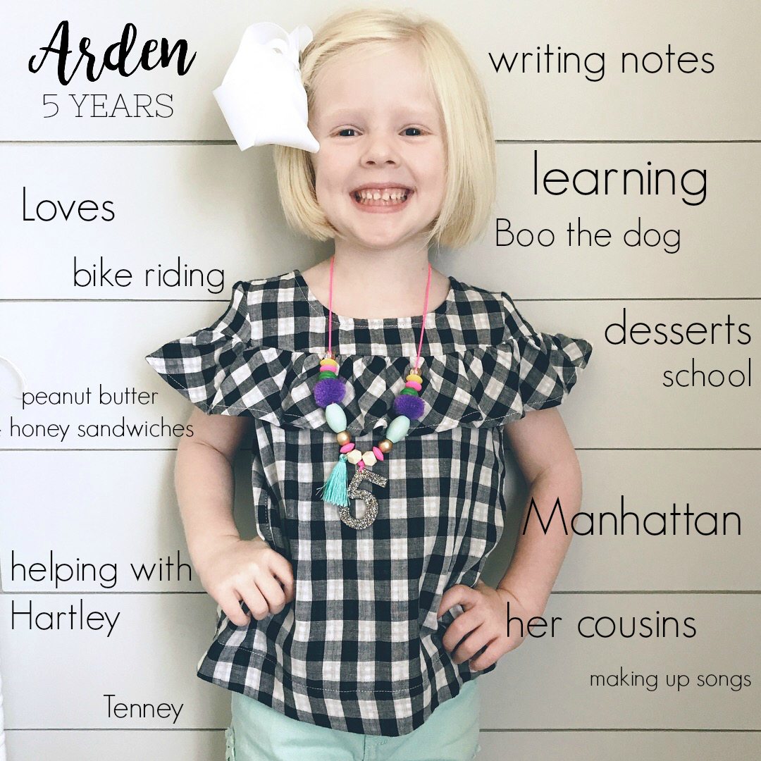 Arden is F.I.V.E.