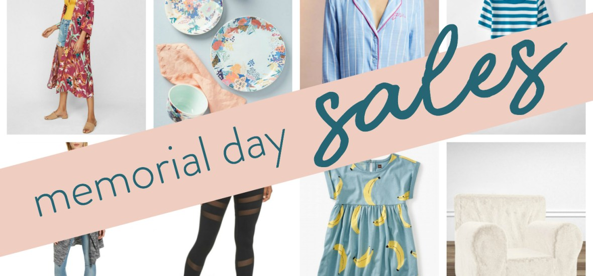 Memorial Weekend Sale ROUND-UP