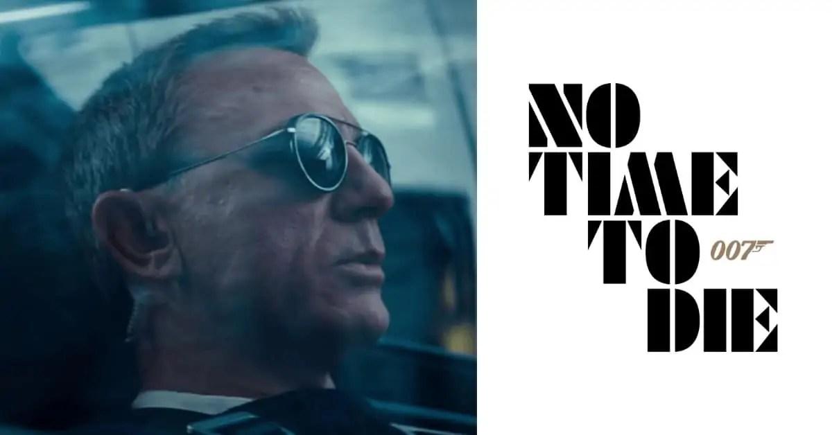 No Time To Die Film Style Sunglasses James Bond 007 Daniel Craig Glasses Brown